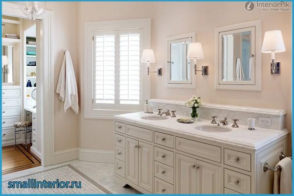 дизайн светлой ванной