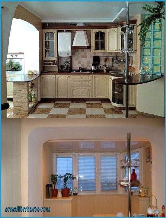 интерьер кухни брежневки фото