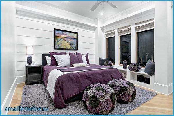 комната в сиреневом цвете