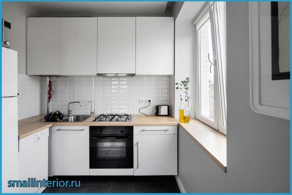 кухни в брежневке фото дизайн малогабаритные
