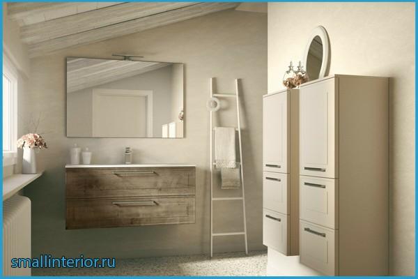 светлая плитка в ванной комнате фото
