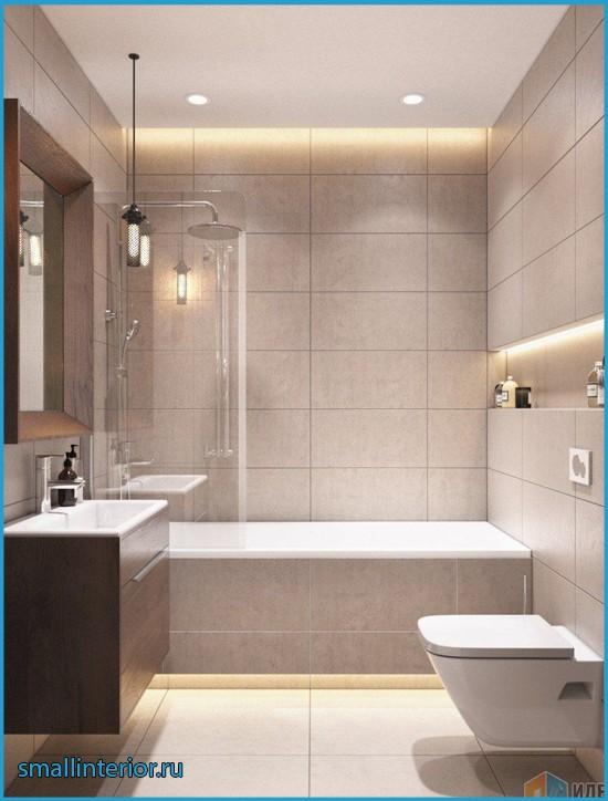 ванная в светлых тонах фото