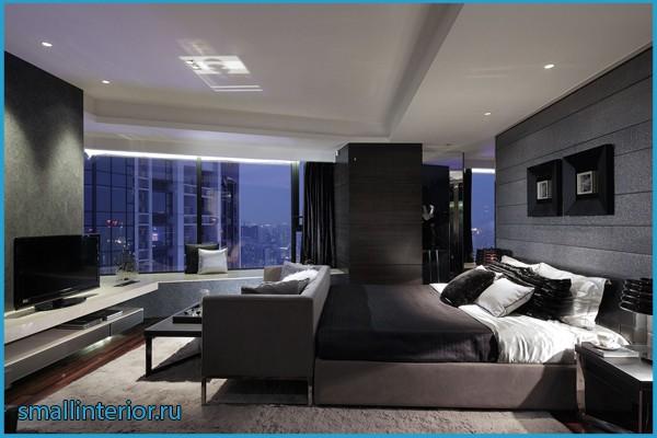 комната в стиле хайтек