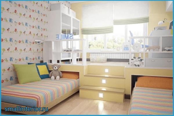 Дизайн детской зоны для двух детей