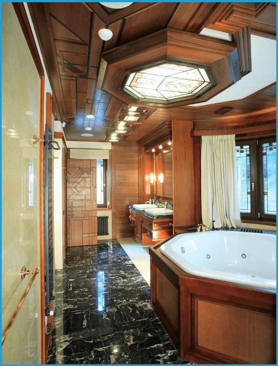 Дизайн ванной комнаты с джакузи 3