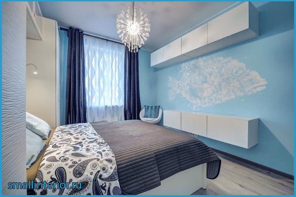 Голубая спальня 2