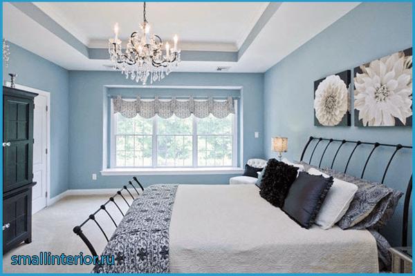 Голубая спальня 6