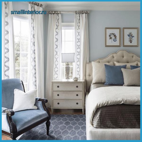 Мебель в голубую спальню