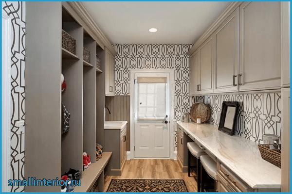 Мебель в кухне в коридоре 2