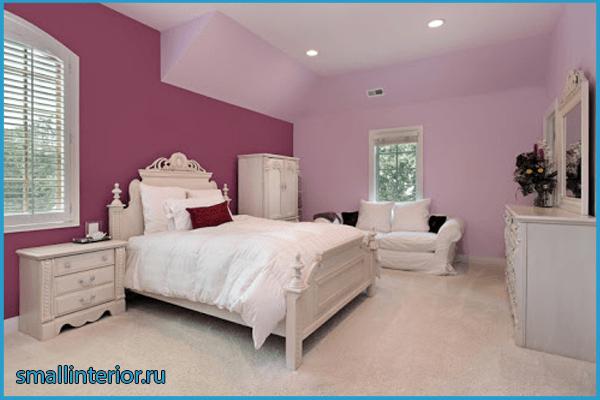 Мебель в розовой спальне