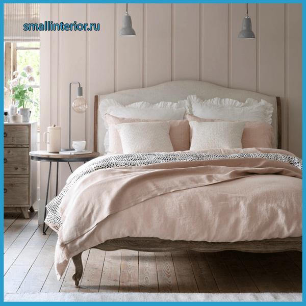 Нежно-розовая спальня 2