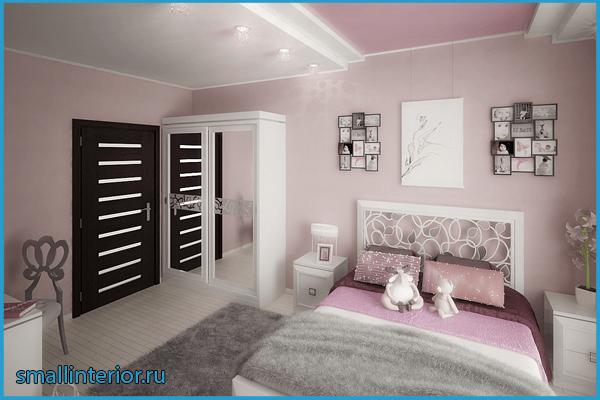 Нежно-розовая спальня 3