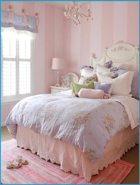 Нежно-розовая спальня 4