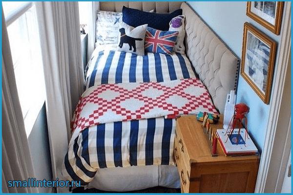 Спальное место на лоджии