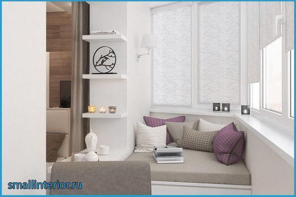 Спальня с балконом контемпорари