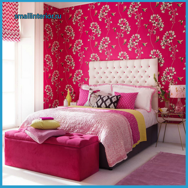 Спальня в розовых тонах 3