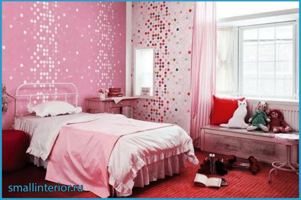 Спальня в розовых тонах 4