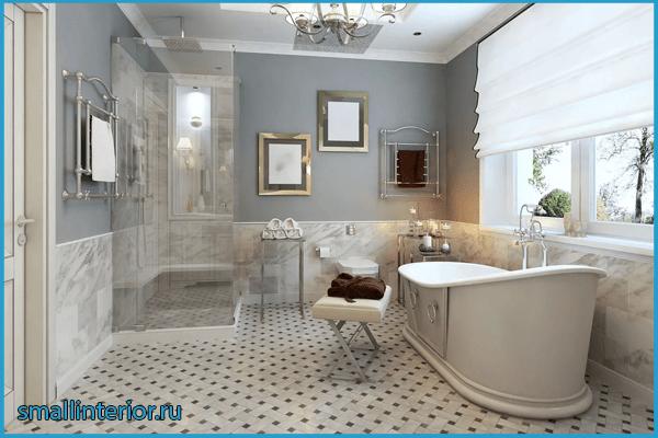 Ванная в классическом стиле 3