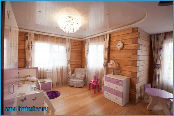 Детская в деревянном доме